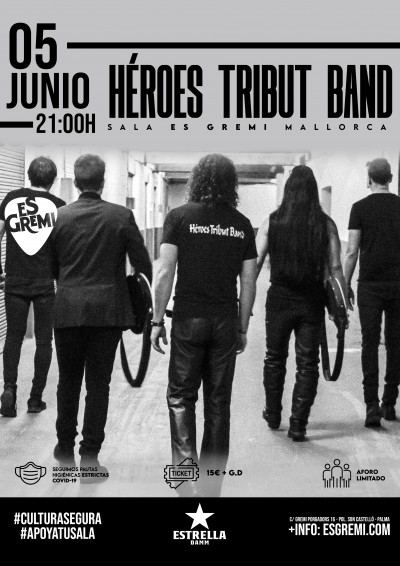 HÉROES TRIBUT BAND