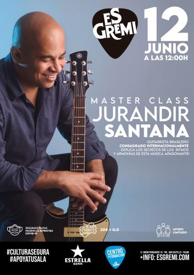 MASTER CLASS - JURANDIR SANTANA